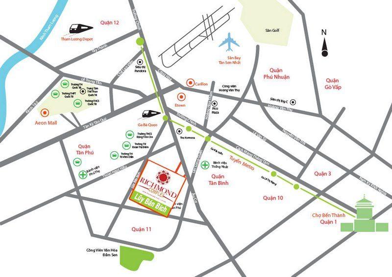 Dự án đường Lũy Bán Bích của Hưng Thịnh